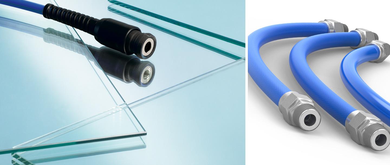 Nuevas cubiertas Soft-Line y extensiones de manguera para aire comprimido