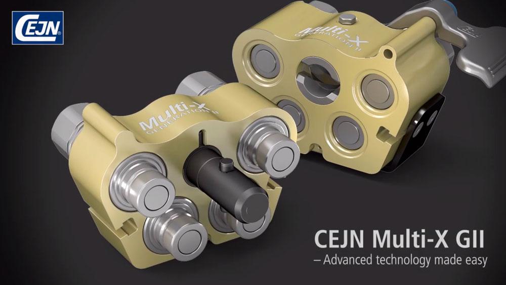 Multi-X GII - Multiconector Hidráulico