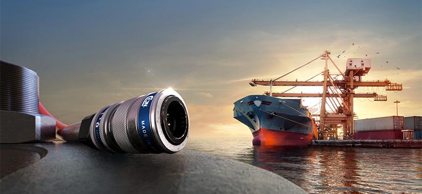 Snabbkopplingslösningar för Marin industri
