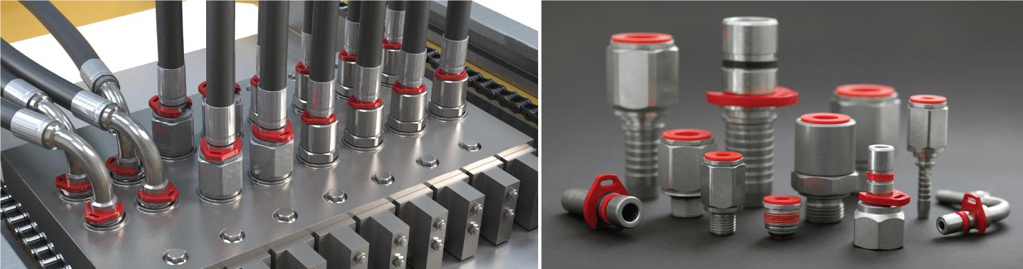 液压插入式连接使安装更加容易