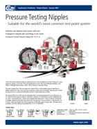 Espigas de toma de presión / Serie 359