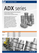 ADX Series - Auto-dock couplings