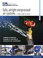 Sistemas seguros y herméticos de aire comprimido