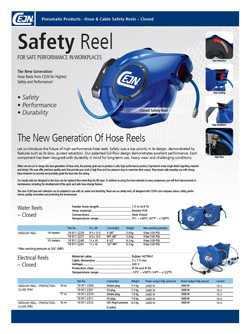 Hose & Cable Safety Reels - New Generation