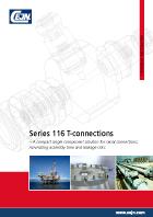 Serie 116 (T-Anschlüsse)
