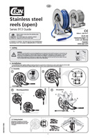 Stainless steel reels - Manual