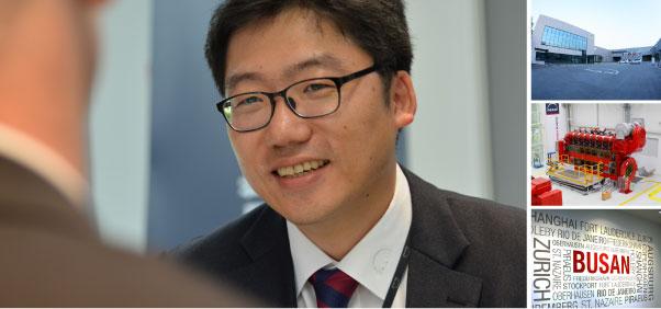 ChulHwan Kim, Leiter der MAN PrimeServ Academy Busan*