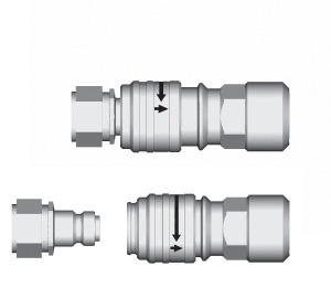 CEJN Flat-Face coupling