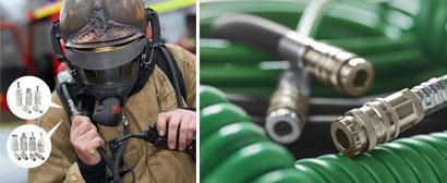 CEJNs kopplingar erbjuder säkra anslutningar vid varje räddningsinsats