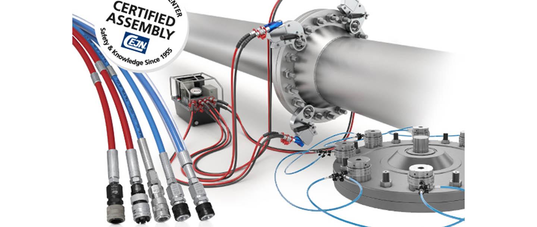 Consignes de sécurité pour le travail avec l'hydraulique à ultra-haute pression