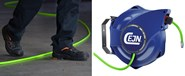 Watch your step - Introducing high visibility (Hi-Vis) hose reels