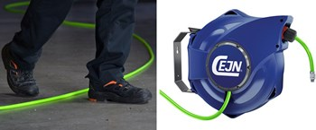 Watch your step! Introducing high visibility (Hi-Vis) hose reels