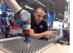 Collaborative robots at CEJN Universal Robots
