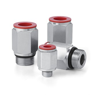 Couplings - Male SAE J514 O-Ring Boss