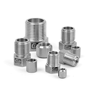HP Collar and Gland Nuts, Stainless Steel