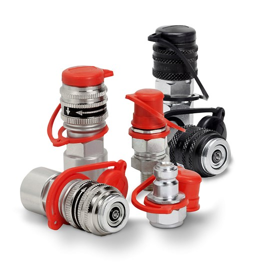 UHP flat-face couplings