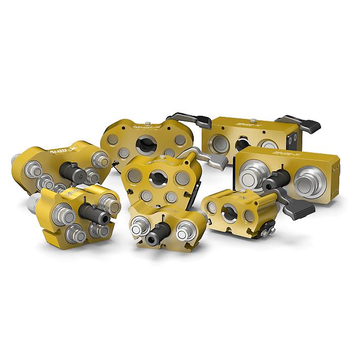 Multi-X couplings