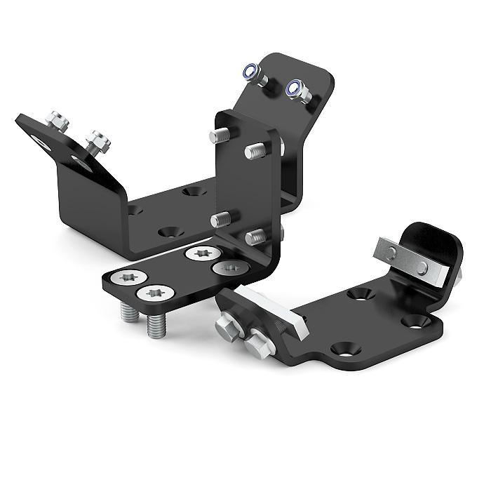Multi-X mounting bracket