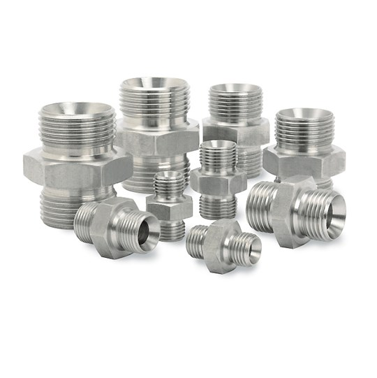 Adapters, stainless steel