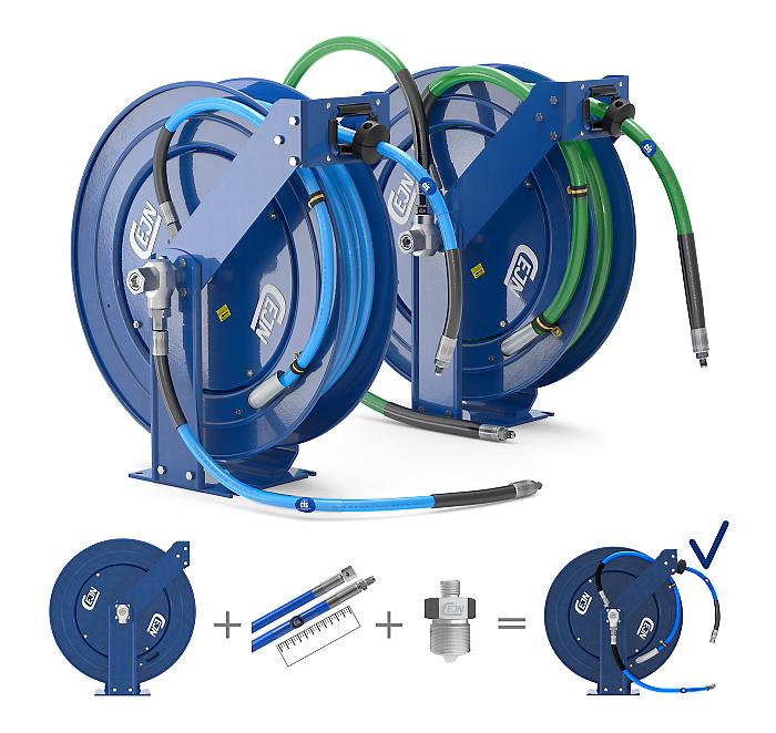 UHP Hydraulic hose reels